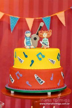 Palavra cantada cake design