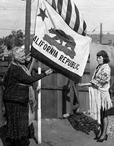 """Sonoma is where the CA bear flag started!  The men of the Revolt were named the """"Bear Flaggers.""""                  On February 3, 2011, the Bear Flag will celebrate its Centennial Anniversary as the Flag of the State of California."""