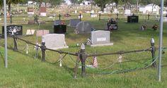 St. Alexius Cemetery, Beardstown, IL, Ark. Lodge I.O.O.F. No. 16 plot.