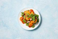 Kijk wat een lekker recept ik heb gevonden op Allerhande! Snijbonen-wortel-salade met hazelnoten
