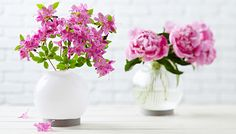 Turn light fixture glass globes into vases for cut flowers in an hour.