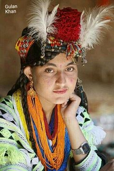 Beautiful Kalashi girl