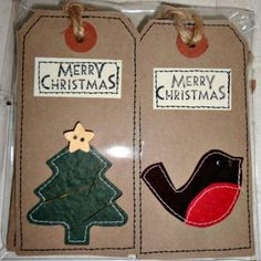 Sweet Christmas Gift Tags from wealdenfairs.com