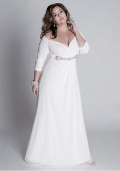 Vestidos de boda civil tallas grandes