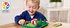 Preschool Games Three Little Piggies, Popular Fairy Tales, Sorting Games, Logic Games, New Jack, Jack And The Beanstalk, Blue Block, Train Your Brain, Games To Buy