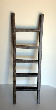 Rustic Ladder. $29.95, via Etsy....great way to hang baby quilts and blankets in the nursery