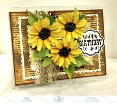 Hello to all! This is Anita here. Welcome to Susan's Garden! Flowers are a beautiful part of our life and they bring happiness and colour to our world. Susan's Garden Notes dies help us to make these beautiful blooms and keep them with us forever. One such flower is the Sunflower from the newest release, and that's what I chose for my card today. You can check them all out here.  Susan's Garden Notes Sunflower 2 is very easy to make and so beautiful. To make the card, follow the simple…