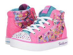 SKECHERS KIDS Twinkle Breeze 2.0 10879L Lights (Little Kid/Big Kid) Girl's Shoes Multi