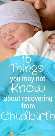 After having two babies, I can definitely say that all of these things happened to me - What you may not know about recovering from childbirth. …