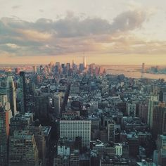 Once you've seen a sunset from the Empire State Building, it will never look the same again. Photo by Ray N.