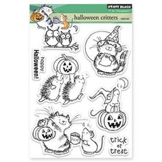 Penny Black Clear Stamps HALLOWEEN CRITTERS 30-185 at Simon Says STAMP!