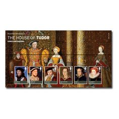 Large image of the The House of Tudor Presentation Pack