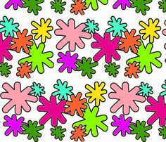 putiputi fabric by reen_walker on Spoonflower - custom fabric