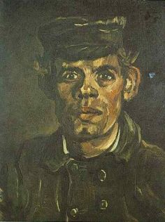 Vincent van Gogh: The Paintings (Head of a Young Peasant in a Peaked Cap) by lynda