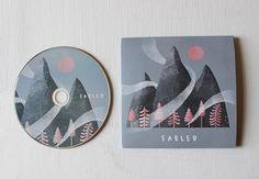 Fabled EP artwork on Behance Cd Design, Album Cover Design, Cd Packaging, Pochette Album, Music Album Covers, Vinyl Designs, Cover Art, Illustration, Box Sets