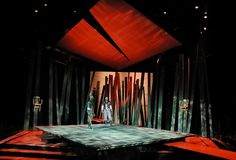 Macbeth. Repertory Theatre of St. Louis. Scenic design by Michael Ganio. 2001