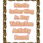 This product contains nine activities for students to choose from based on Martin Luther King Jr. Day.   Choice boards provide students with inde...