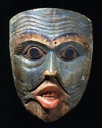 Old Man Shaman Mask | Tlingit (1820-60)