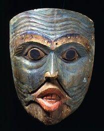 Old Man Shaman Mask | Tlingit (1820-60)