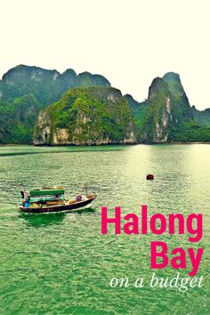 Halong Bay on a budget  | #travel #traveltips #vietnam