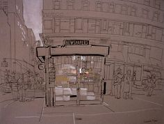 Chloe Moore Photography: The Blog: Lucinda Rogers - The New York Drawings