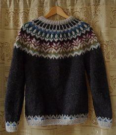 Irasis' Icelandic sweater - free pattern on Ravelry