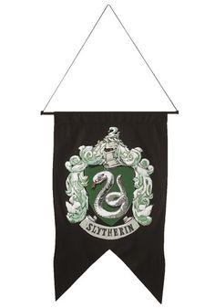 Slytherin Banner - Harry Potter Home Decor