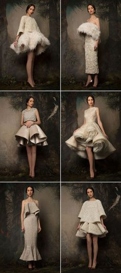 Krikor Jabotia  n48 Beautiful Era-Inspired Wedding Dresses for Vintage Lovers! Couture Mode, Couture Fashion, Gowns Couture, Bridal Fashion, Beautiful Dresses, Nice Dresses, Short Dresses, Barbie Mode, Mode Editorials