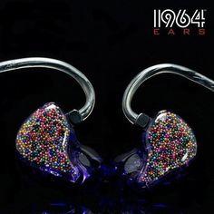 Yuri's in ears. Dream Music, Music Love, Music Mic, Microphone Studio, Audiophile Headphones, Cute Headphones, In Ear Monitors, Bling Acrylic Nails, Music Items