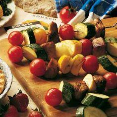 Garden Kabobs Recipe