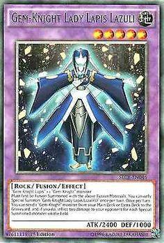 Original Konami YuGiOh Trading Card aus Secrets of Eternity.  SECE-EN046  Gem-Knight Lady Lapis Lazuli (Edelstein-Ritterdame Lapislazuli) Seltenheit: Rare - 1st Edition  GBA-Code: 47611119 | Jetzt günstig bei eBay kaufen!