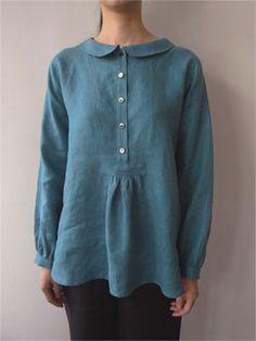 Flat Collar blouse