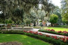 """Orleans Square, in Savannah aka """"My"""" Square ... anyone who has come to town can attest ... my tours usually start here :)"""