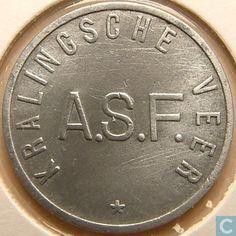 Kantinepenningen - ASF - Kralingse Veer - Rotterdam