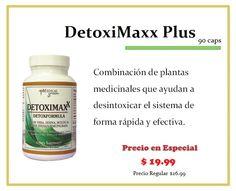 ¡En Especial!    DetoxiMaxx Plus (90caps)    Consíguelo en tus tiendas Vita Natura.    ¡Te esperamos!    **Promoción válida hasta el 30 de Abril de 2013
