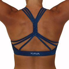 e5f801646f Braided Bra - Midnight Blue. Yoga FashionFitness ...