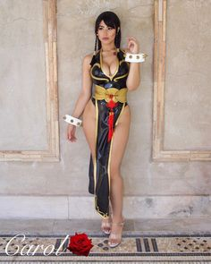 Chun-Li by TheCarolRose - More at https://pinterest.com/supergirlsart #carolrose #carol #rose #chunli #street #fighter #sf #streetfighter #cosplay #girl
