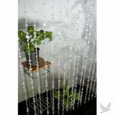 x Foot Beaded Curtain Panels - Crystal Large Diamond Cut Acrylic Beaded Curtains BEST SELLER! Buy Bead Curtain] : Wholesale Wedding Supplies, Discount Wedding Favors, Party Favors, and Bulk Event Supplies Beaded Door Curtains, Crystal Curtains, Panel Curtains, Curtain Panels, Wedding Supplies Wholesale, Diy Wedding Supplies, Wedding Favors, Party Favors, Wedding Columns