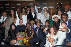 Premiere of the new Netflix's series, The Get Down (2016)