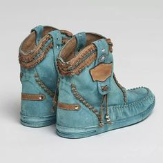 Low Heel Boots, Suede Boots, Heeled Boots, Ankle Boots, Women's Boots, Cowgirl Boots, Boots For Short Women, Short Boots, Blue Boots
