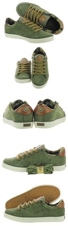 C1RCA Men's AL50 Skate Shoe, Burnt Olive/Pinecone, 8.5 M US