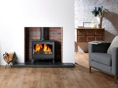 ACR Hopwood stove - The ACR Hopwood is a Defra exempt stove with a nominal heat output of 6 kW. It is fitted with a riddling grate so you also have the option to burn smokeless fuel.