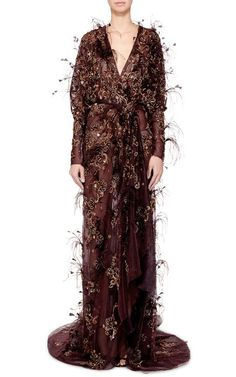 Marchesa Fall/Winter 2015 Trunkshow Look 10 on Moda Operandi