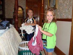 Chore Packs/the Duggar chore system – Teaching Our Children to Work
