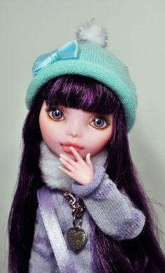 OOAK Custom Monster High Doll Paige 104 Nekomuchuu Repaint Elissabat Mattel | eBay