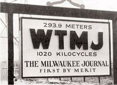 Les was about ten he would ride his bicycle six miles each way from Waukesha to Milwaukee's WTMJ transmitter and tower to learn about radio operations