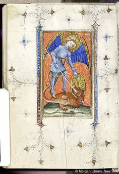 Book of Hours, MS M.866 fol. 111v - Images from Medieval and Renaissance Manuscripts - The Morgan Library & Museum
