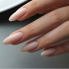 Want some ideas for wedding nail polish designs? This article is a collection of our favorite nail polish designs for your special day. Read for inspiration Almond Acrylic Nails, Cute Acrylic Nails, Rounded Acrylic Nails, Almond Nail Art, Best Nail Art Designs, Gel Nail Designs, Nails Design, Nude Nails, My Nails