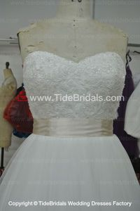 Ball gown wedding dress #AS1557