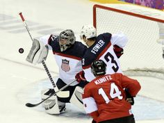 2014 Winter Olympics Hockey USA vs. Canada | ... hockey semifinals during the Sochi 2014 Olympic Winter Games at